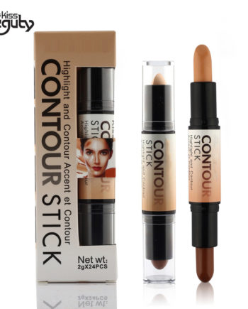 Makeup Creamy Double-ended 2 in1 Contour Stick Contouring Highlighter Bronzer Create 3D Face Makeup Concealer Full Cover Blemish