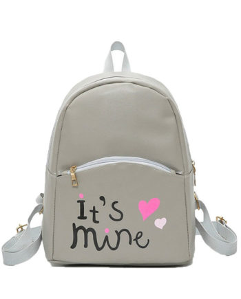 Fashion Women Backpack Leather School Bags Girls Top Handle Backpack sale on high quality gift wholesale