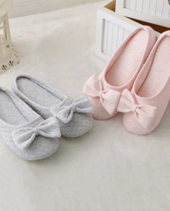 2016 Spring Bow home slippers non-slip slippers mute, cloth rubber-soled slippers, women slippers, free shipping!