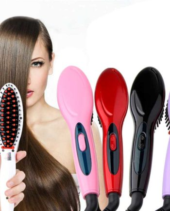 Electric hair straightener brush Hair Care & Styling hair straightener Comb Auto Massager Straightening Irons Simply Fast Hair