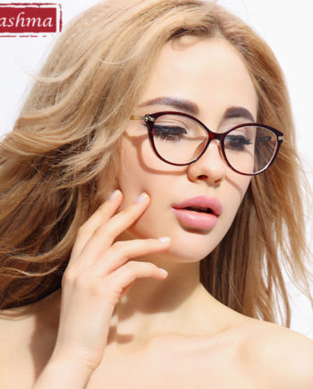 Chashma Fashion Female Glasses TR 90 Eyewear Cat Eyes Stylish Optical Glasses Frame for Women